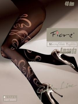 Ciorapi cu model Fiore AMANDA 40 DEN