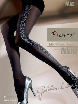 Ciorapi cu model Fiore Octavia 40 DEN