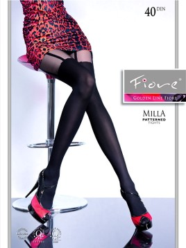 Ciorapi cu model Fiore MILLA 40 DEN