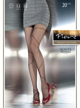 Ciorapi cu model Fiore Rosita