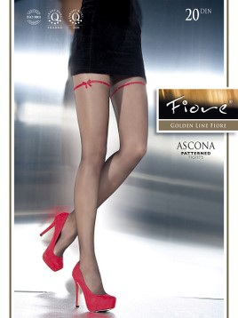 Ciorapi cu model Fiore ASCONA 20 DEN