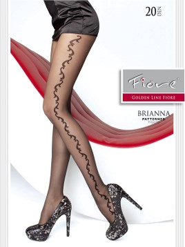Ciorapi cu model Fiore BRIANNA 20 DEN