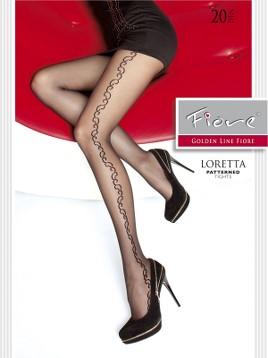 Ciorapi cu model Fiore LORETTA
