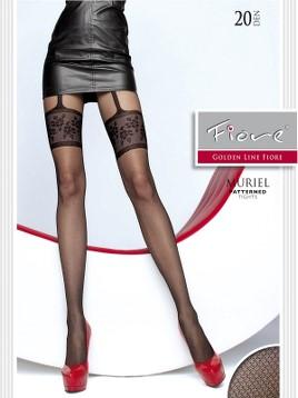 Ciorapi cu model Fiore MURIEL 20 DEN
