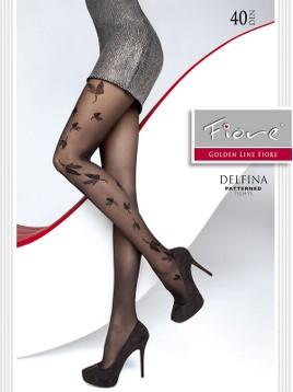 Ciorapi cu model Fiore DELFINA