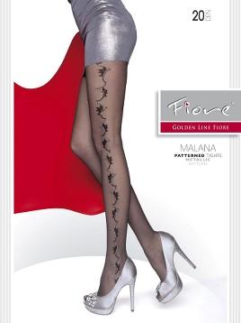 Ciorapi cu model Fiore Malana