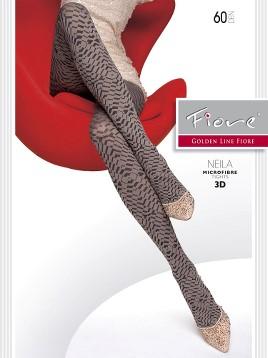 Ciorapi Fiore NEILA (Microfibra 3D)