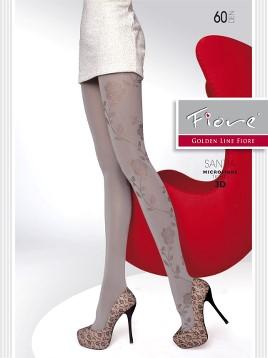 Ciorapi Fiore SANTIA (Microfibra 3D)
