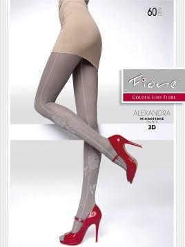 Ciorapi Fiore ALEXANDRA (Microfibra 3D)