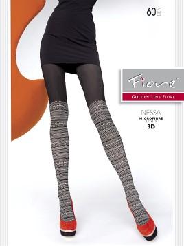 Ciorapi Fiore NESSA (3D)