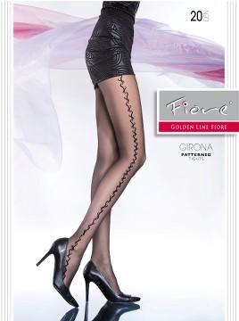 Ciorapi cu model Fiore GIRONA 20 DEN