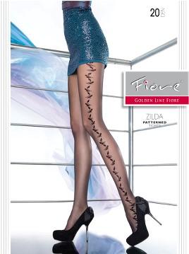 Ciorapi cu model Fiore ZILDA