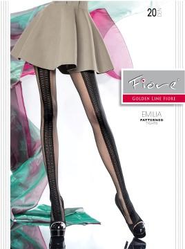 Ciorapi cu model Fiore EMILIA 20 DEN