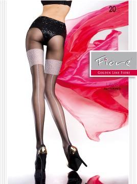 Ciorapi cu model Fiore LAVIS