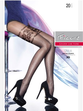 Ciorapi cu model Fiore VAILA