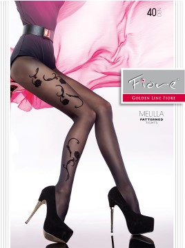 Ciorapi cu model Fiore MELILLA