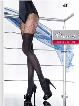 Ciorapi cu model Fiore DIUNA 40 DEN