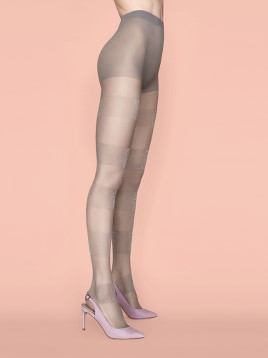 Ciorapi cu model Fiore Semi-Sweet