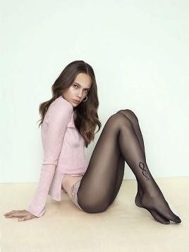 Ciorapi cu model Fiore Sparkle