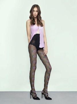 Ciorapi cu model Fiore Pink Punk
