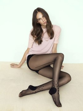 Ciorapi cu model Fiore Tricky