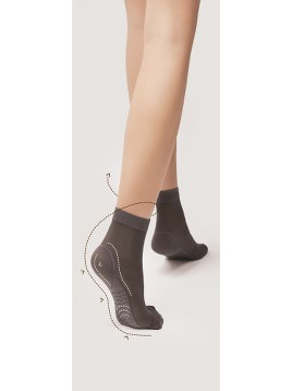 Sosete para-medicale Fiore BodyCare Massage Socks Short 40 DEN