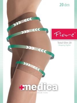 Ciorapi medicinali Fiore TOTAL-SLIM 20