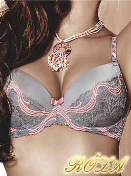Sutien Roza ALEGRA Grey-Pink