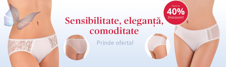 Sensibilitate, eleganta, comoditate - discount 40%