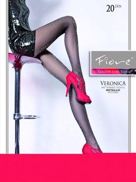 Ciorapi cu model Fiore VERONICA-20 20 DEN