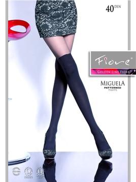 Ciorapi cu model Fiore MIGUELA 40 DEN