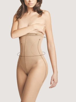 Ciorapi para-medicale Fiore BodyCare High Waist Bikini 20 DEN