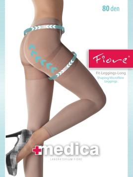 Leggings Long medicinali Fiore FIT 80 DEN